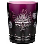 2015 Snowflake Wishes Health Amethyst Prestige DOF Glass