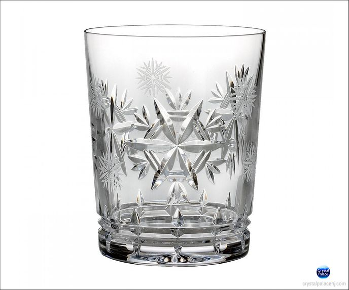 2015 Snowflake Wishes Health DOF Glass