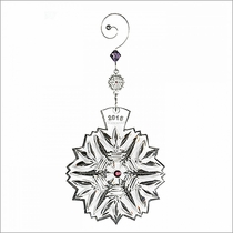 2015 Snowflake Wishes Health Ornament