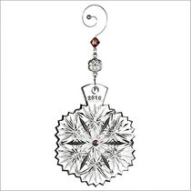 (SOLD OUT) 2016 Waterford Crystal Snowflake Wishes Serenity Christmas Ornament