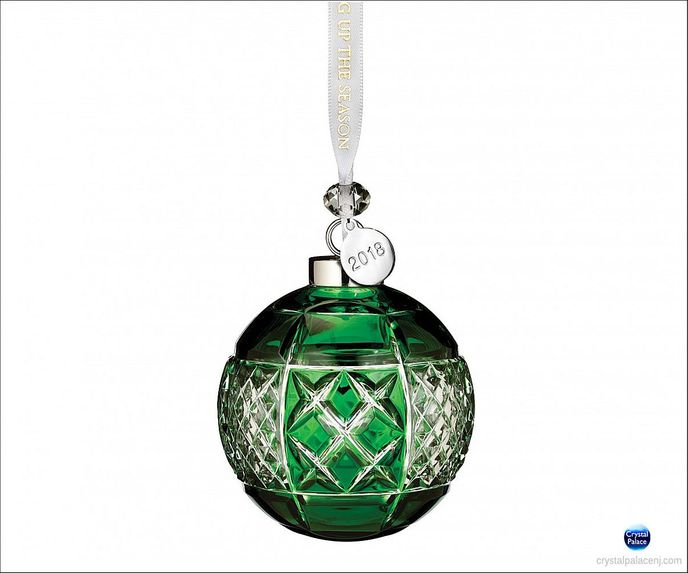 (SOLD OUT) 2018 Emerald Ball Ornament