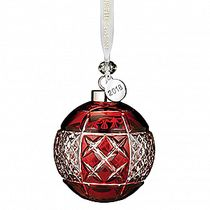 2018 Ruby Ball Ornament