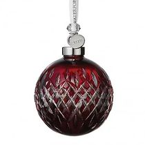 2019 Ruby Ball Christmas Ornament