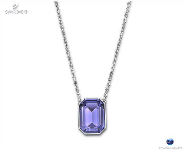 (SOLD OUT) Swarovski  Vini Tanzanite Pendant