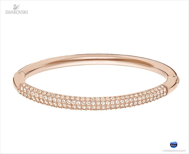(SOLD OUT) Swarovski  Stone Mini Bangle rose gold