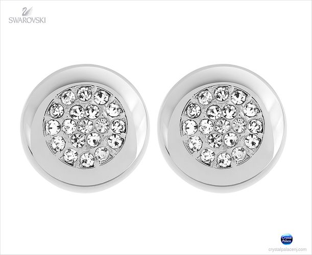 (SOLD OUT) Swarovski Stone Stud Pierced Earrings