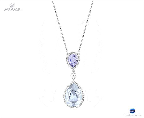 (SOLD OUT) Swarovski Christie Double Pear Necklace