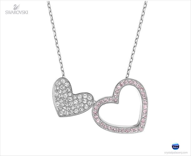 (SOLD OUT) Swarovski Cupid Rose Pendant