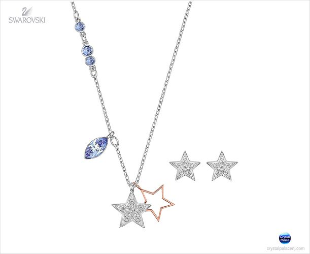 (SOLD OUT) Swarovski Duo Set Star