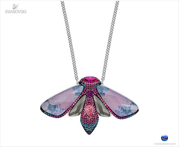 (SOLD OUT) Swarovski Ditty Butterfly Long Necklace