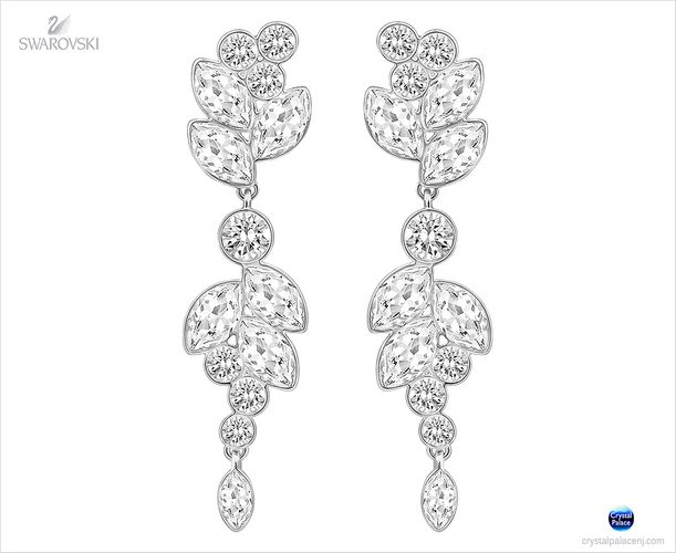 (SOLD OUT) Swarovski Diapason Medium Pierced Earrings