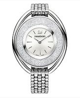(SOLD OUT) Crystalline Oval Watch, Silver