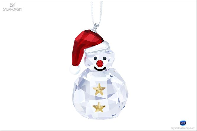 (SOLD OUT) Rocking Snowman ornament