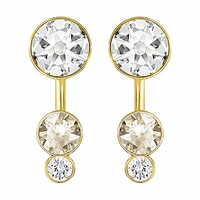 Swarovski Slake Dot Pierced Earring Jackets crystal