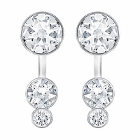 (SOLD OUT) Swarovski Slake Dot Pierced Earring Jackets rhodium-plated