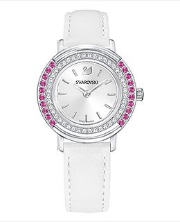 Playful Lady Watch, White