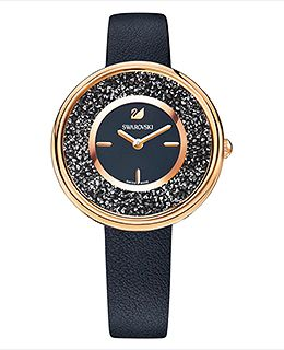 Crystalline Pure Watch, Black