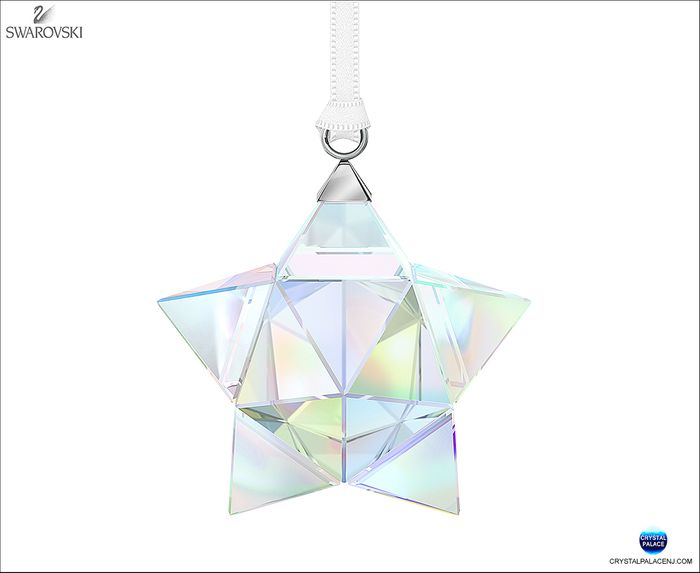 (SOLD OUT) Star Ornament, Crystal AB small