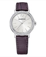 (SOLD OUT)  Graceful Mini Watch Violet, Silver tone