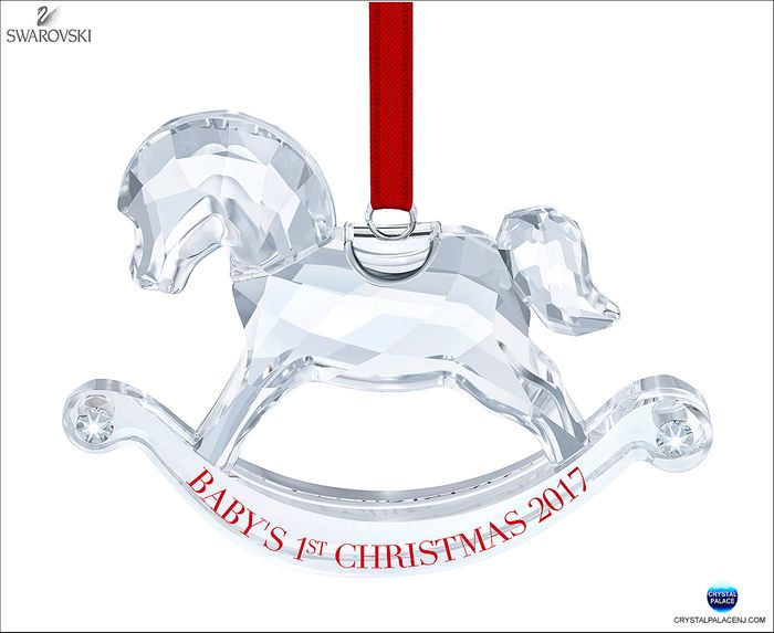 Baby's 1st Christmas Ornament Annual Edition 2017