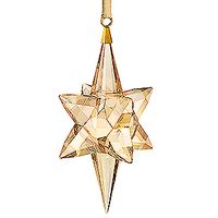 (SOLD OUT) Star Ornament, Gold Tone, large