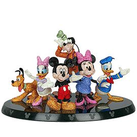 Crystal, Myriad Disney Mickey and Friends