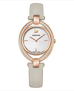 Stella Watch, Gray, Rose gold