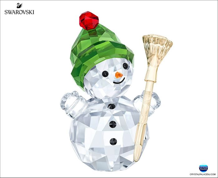 (SOLD OUT) Snowman with Broom Stick