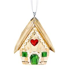 (SOLDOUT) Gingerbread House Ornament