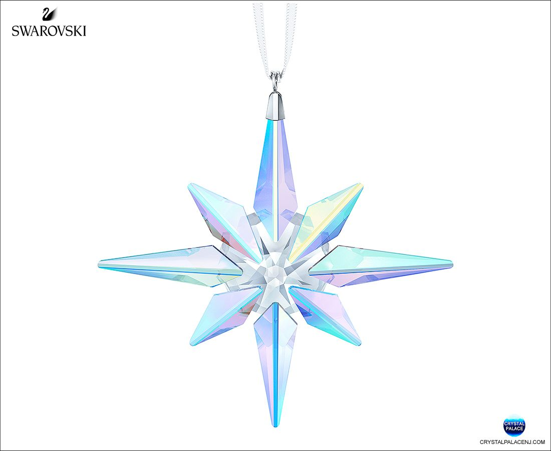 5403200 Swarovski Star Ornament Crystal Ab