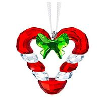 (SOLD OUT) Candy Cane Heart Ornament