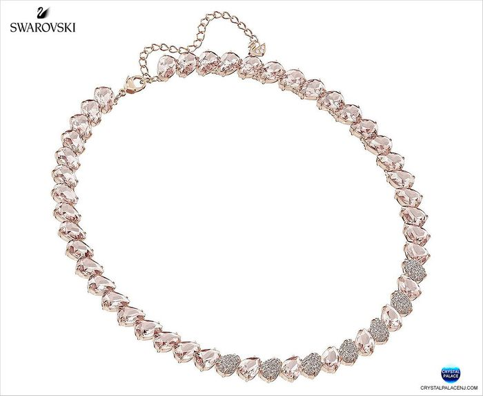 Mix Necklace, Pink, Rose gold
