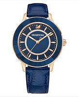 Octea Lux Watch, Blue, Rose gold