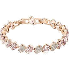 Mix Bracelet, Pink, Rose gold