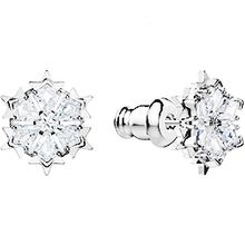 Magic Pierced Earrings,  Rhodium