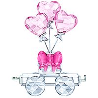 (NEW 2019)  First Steps Heart Balloons Wagon
