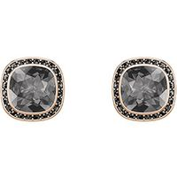 Lattitude Stud Pierced Earrings, Gray