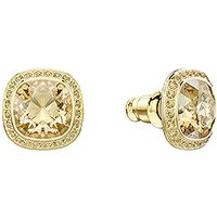 Lattitude Stud Pierced Earrings, Golden