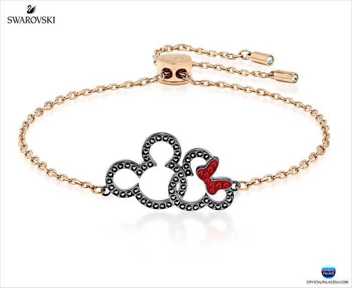 Mickey & Minnie Bracelet, Multi-colored