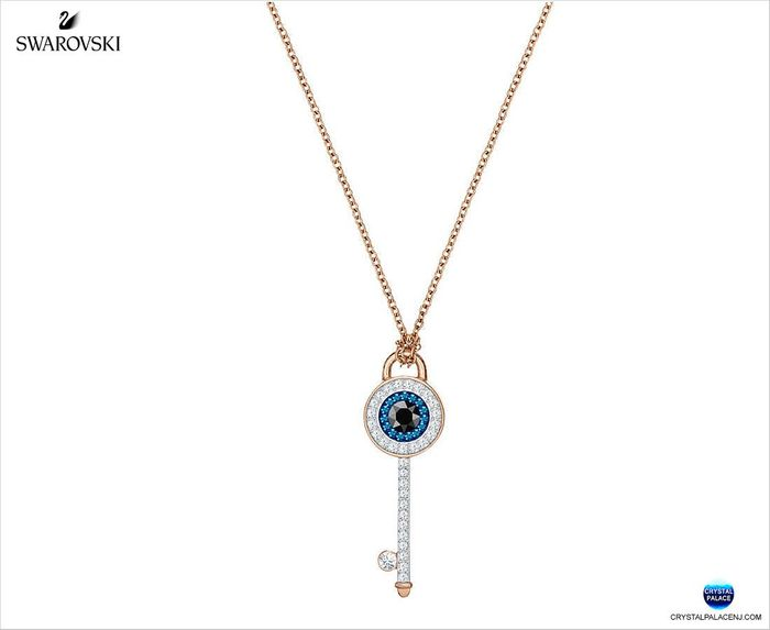 Duo Evil Eye Pendant, Multi-colored