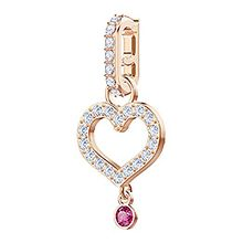 Remix Collection Charm Heart Rose gold