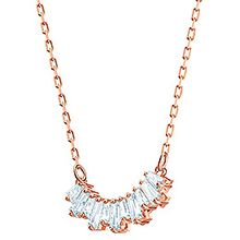 (SOLD OUT)  Sunshine Necklace, White, Rose gold