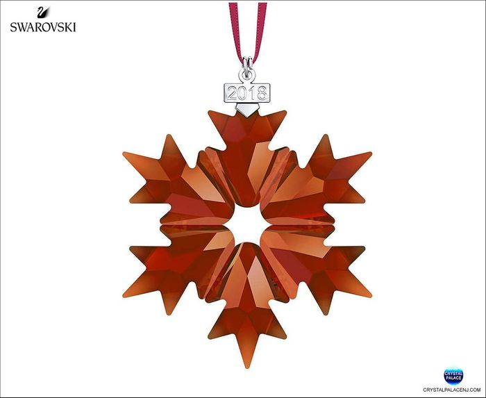 Magma Red Ornament 2018