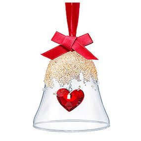 (SOLD OUT) Christmas Bell Ornament, Heart