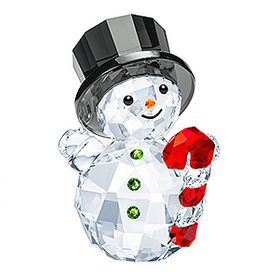 (SOLD OUT) Snowman with Candy Cane