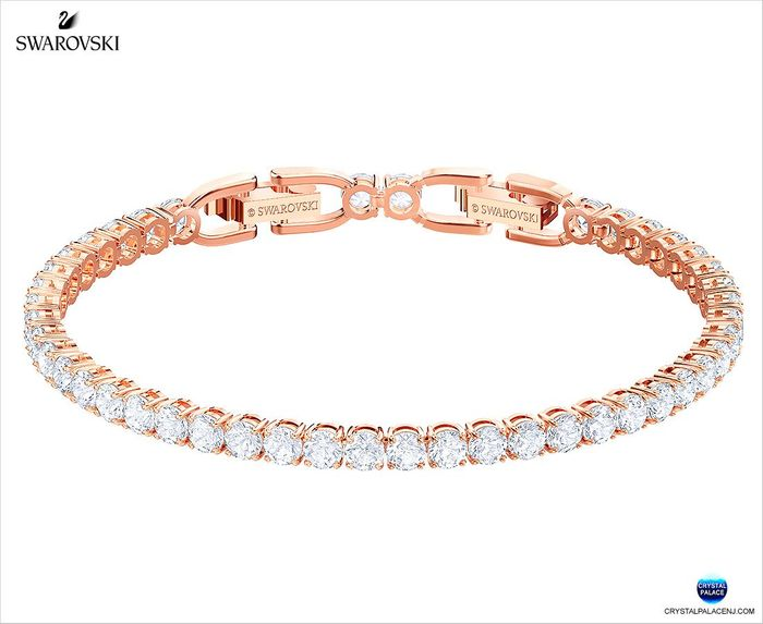 Tennis Bracelet,  Rose gold