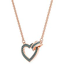 Lovely Necklace, Gray, Rose gold