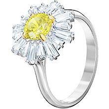 (SOLD OUT) Sunshine Ring, Yellow, Rhodium