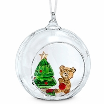 (SOLD OUT Ball Ornament, Christmas Scene