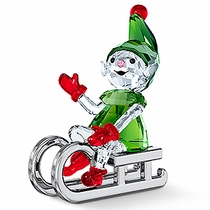 (SOLD OUT)  Santa's Elf on Sleigh